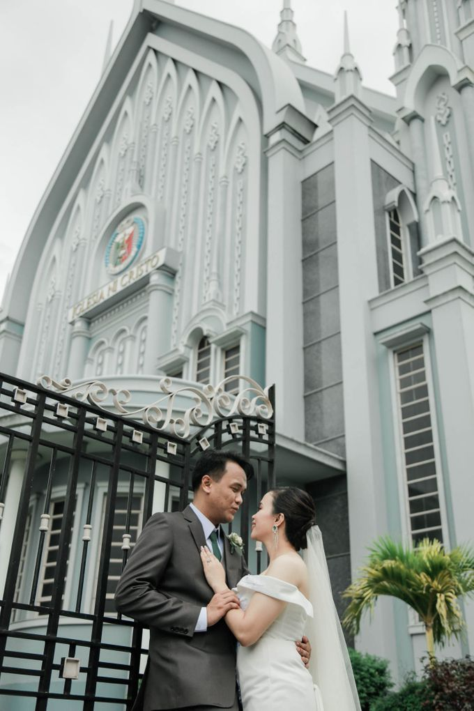 A Fresh and Modern Minimalist Iglesia Ni Cristo Wedding by Eye Candy Manila Event Styling Co. - 040