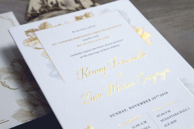 Kenny + Ziva by Caramel Card - 002