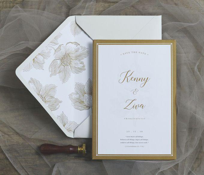 Kenny + Ziva by Caramel Card - 003