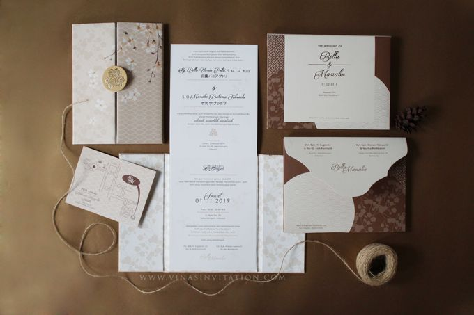 Bella & Manabu by Vinas Invitation - 002