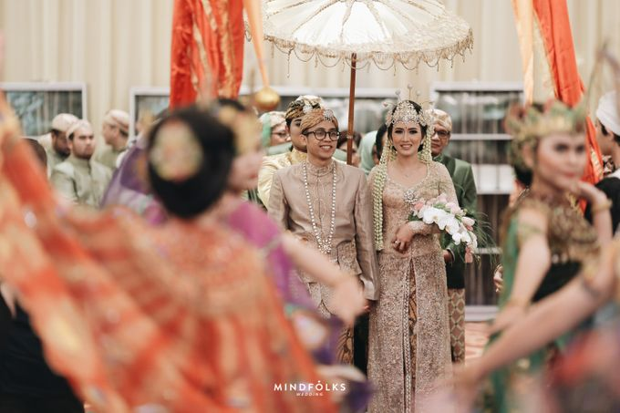 ZIA & DWI - WEDDING RECEPTION by Amarillis Floral and Party Decorator - 004