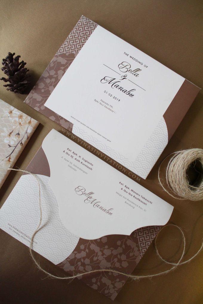 Bella & Manabu by Vinas Invitation - 004