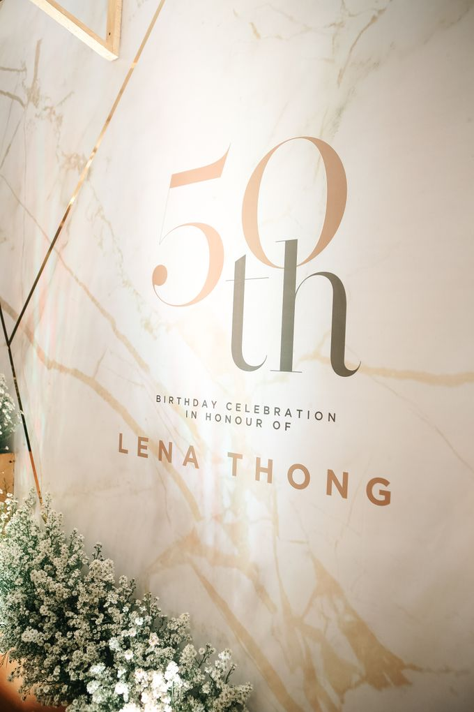Birthday of Ms Lena Thong by La'SEINE Function Hall - 001