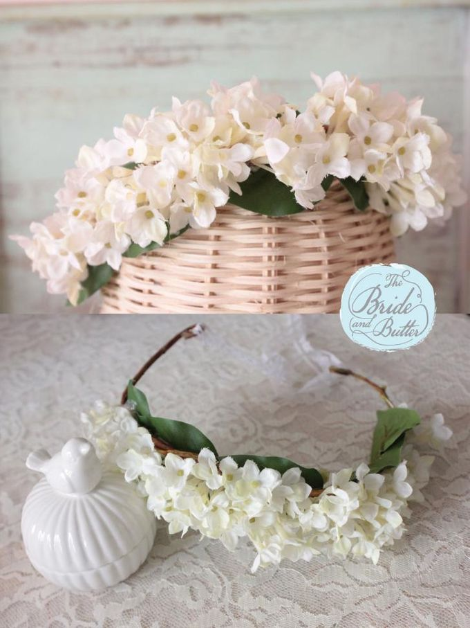 CUSTOM FLOWER CROWN by The Bride and Butter - 001