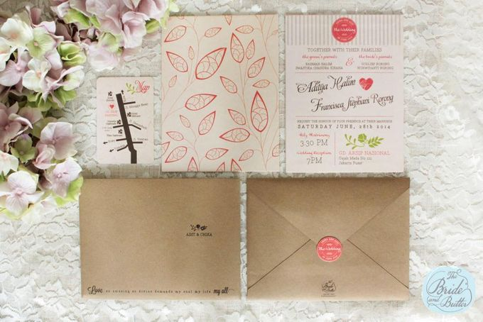 INVITATION - when rustic meets coral by The Bride and Butter - 001
