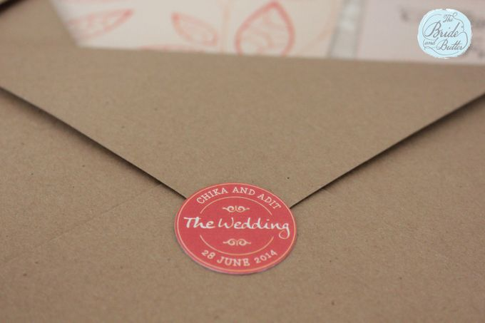 INVITATION - when rustic meets coral by The Bride and Butter - 002