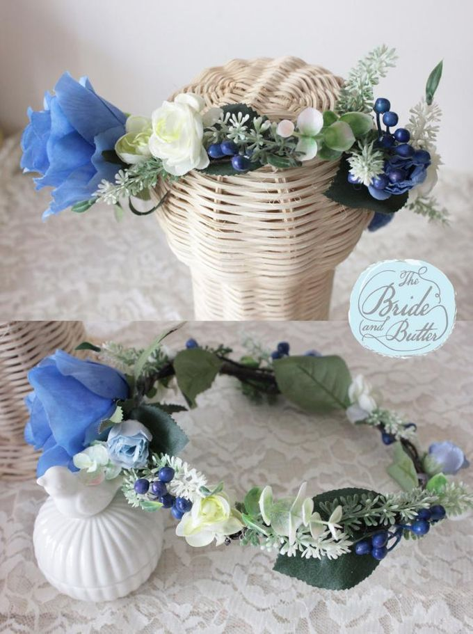 CUSTOM FLOWER CROWN by The Bride and Butter - 002