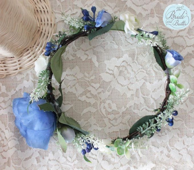 CUSTOM FLOWER CROWN by The Bride and Butter - 003