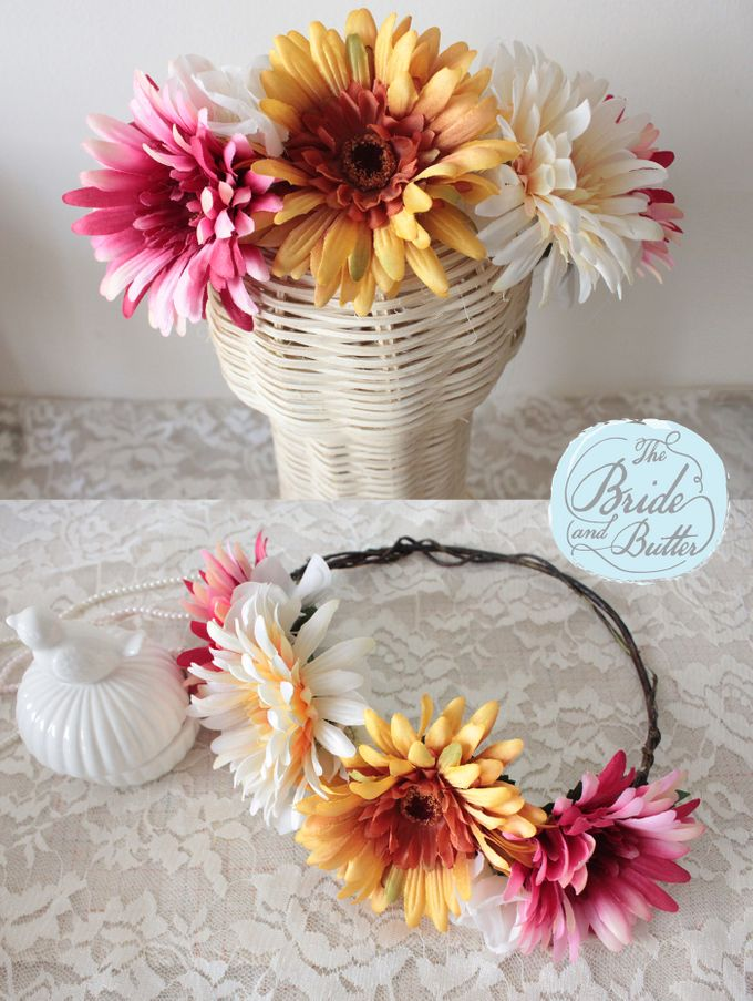 CUSTOM FLOWER CROWN by The Bride and Butter - 004
