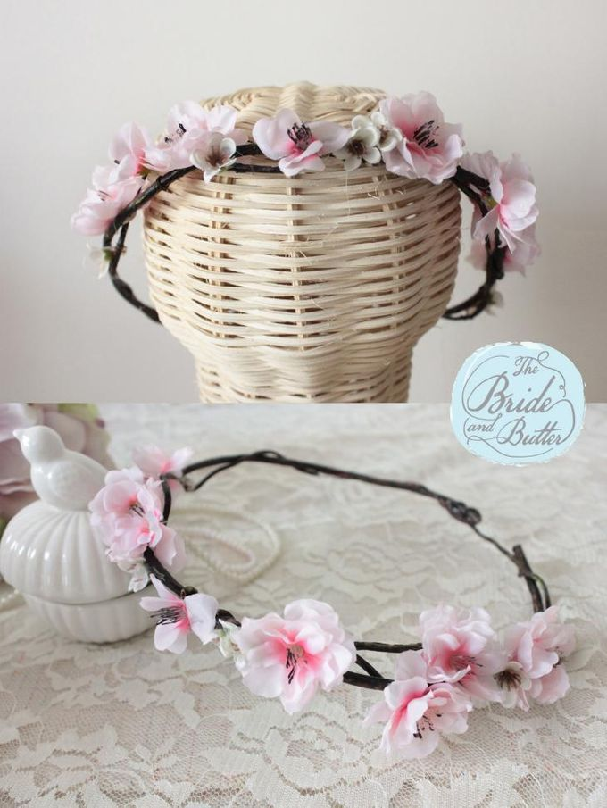 CUSTOM FLOWER CROWN by The Bride and Butter - 005