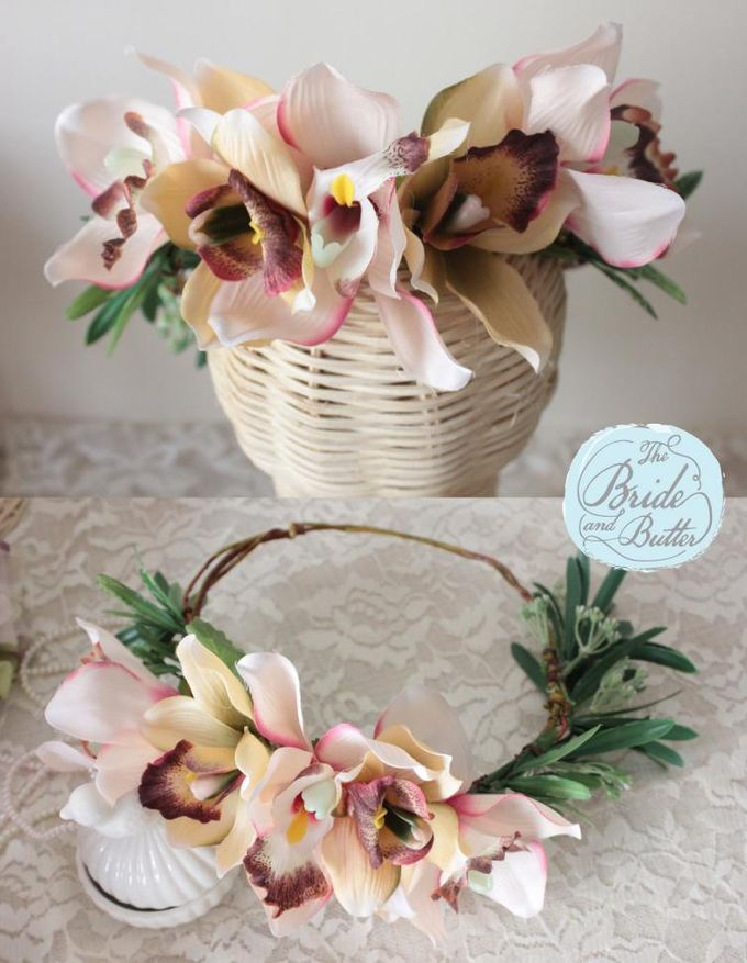 CUSTOM FLOWER CROWN by The Bride and Butter - 006