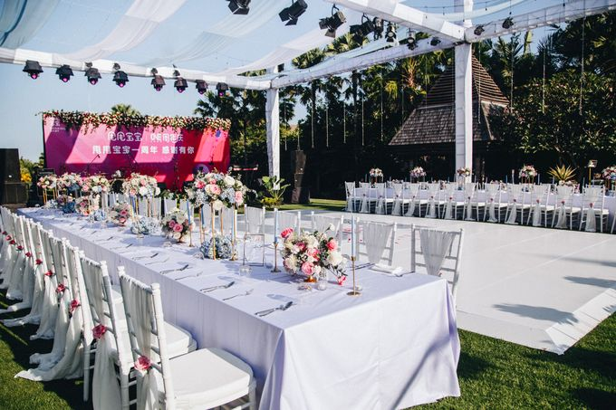 Corporate Chinese Gala Dinner by Bali Wonderful Decor - 017