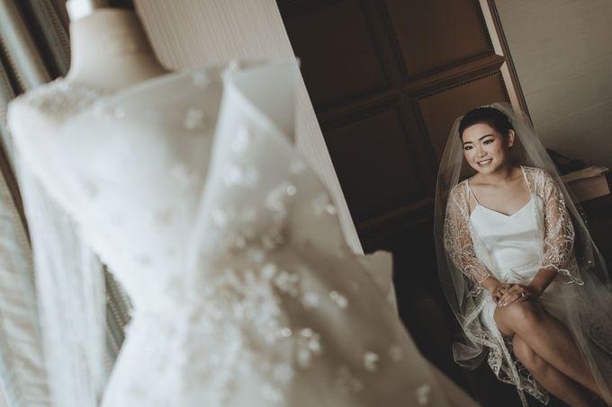 Anton & Cynthia Wedding Day by Mimi kwok makeup artist - 003