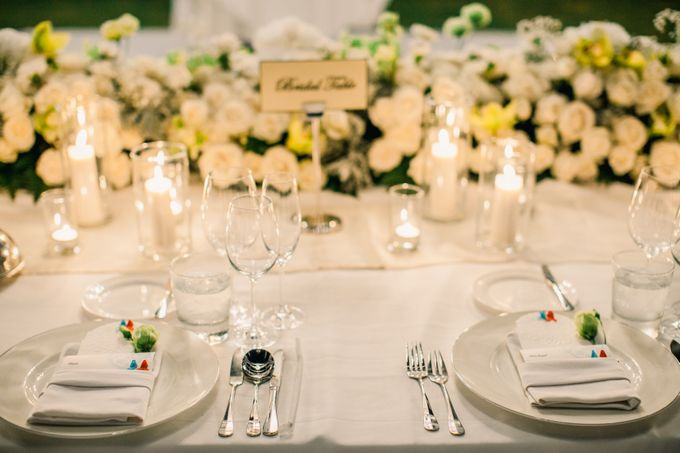 The Wedding of  Tian & Michael at Ayana Villa by Red Gardenia - 033