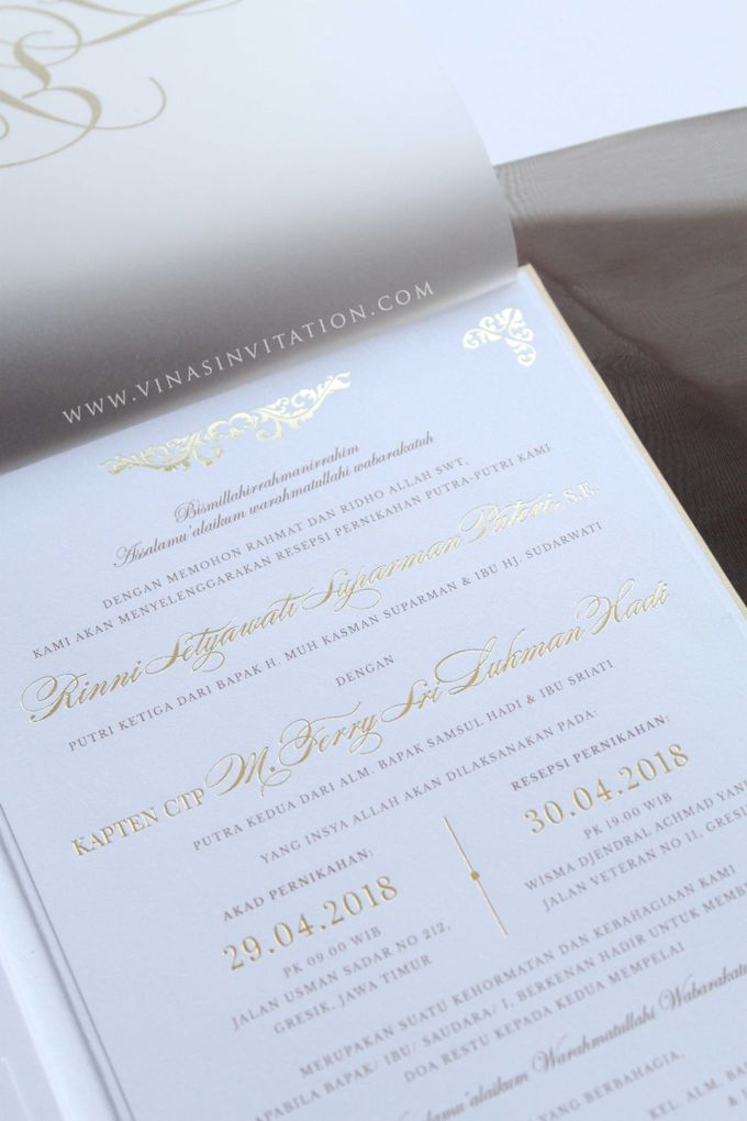 Rinni & Ferry by Vinas Invitation - 005