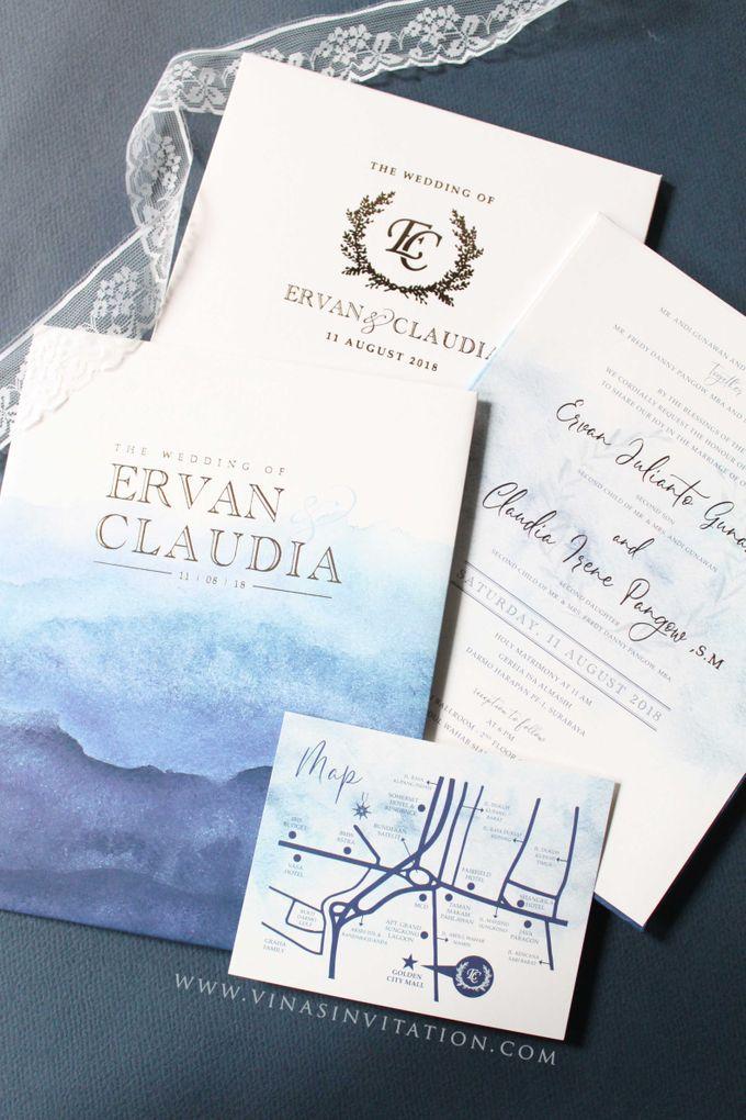 Ervan & Claudia by Vinas Invitation - 001