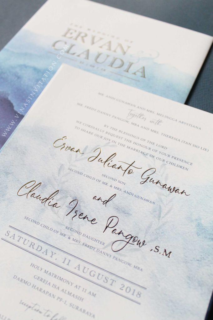 Ervan & Claudia by Vinas Invitation - 003