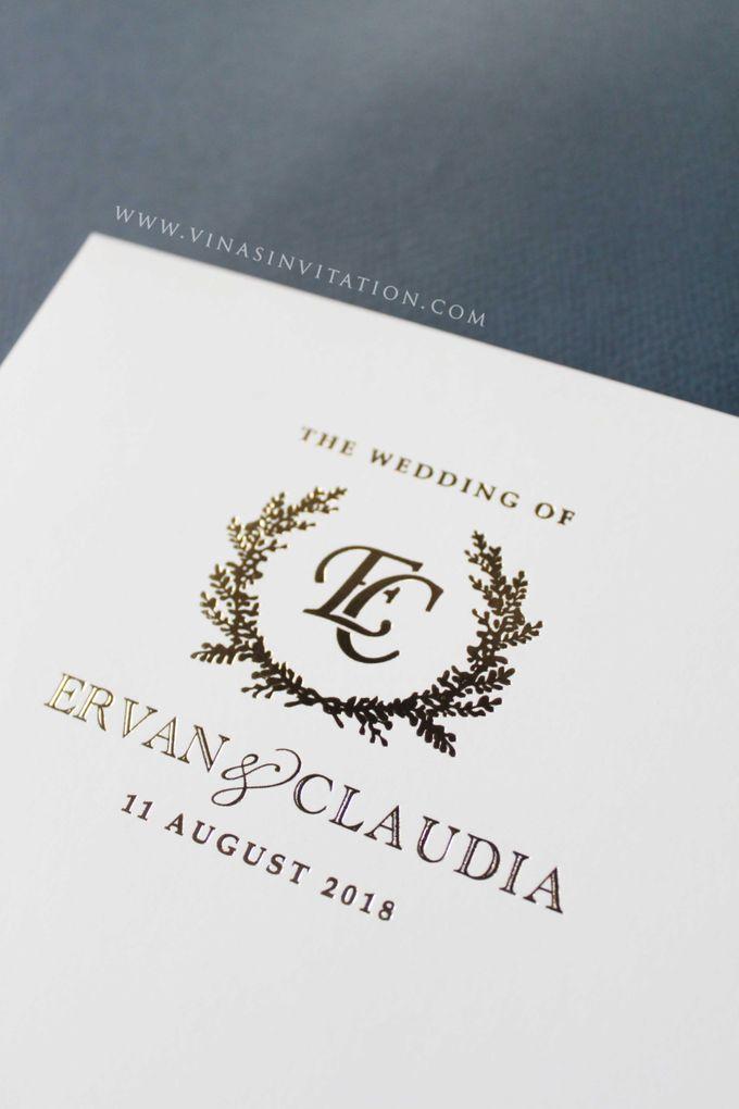 Ervan & Claudia by Vinas Invitation - 004