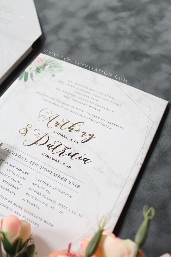 Anthony & Patricia by Vinas Invitation - 002