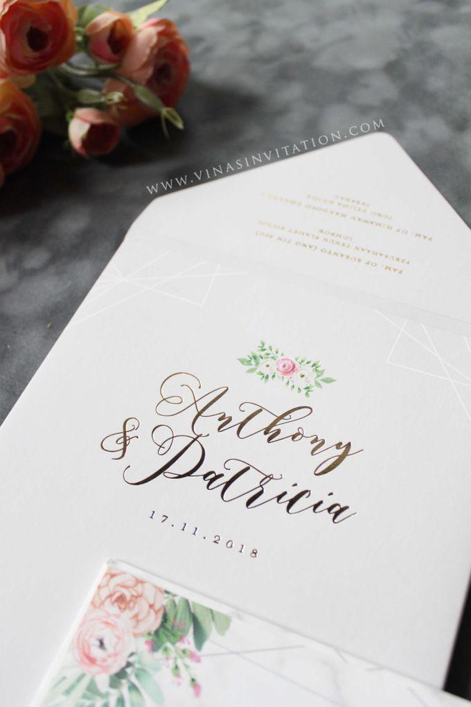 Anthony & Patricia by Vinas Invitation - 003