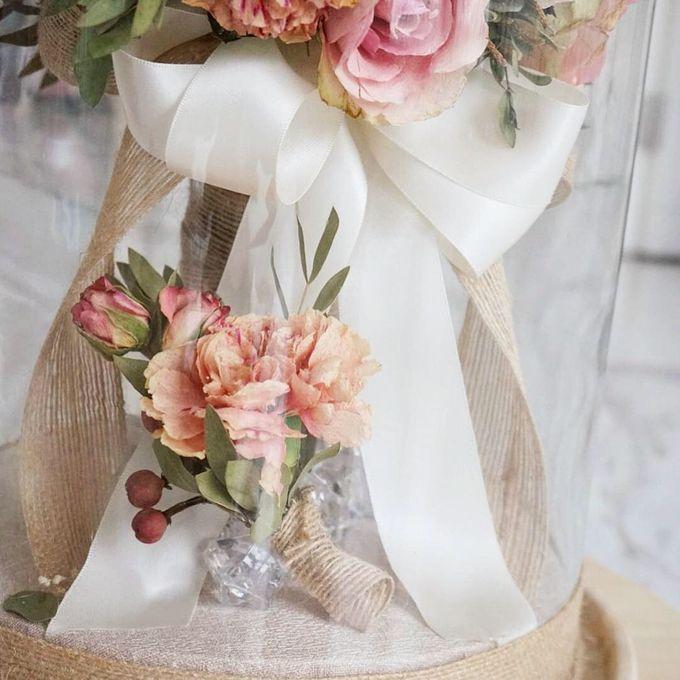 Preserved Wedding Bouquet of David Ameria by CONSERVÉ FLOWER PRESERVATION - 002