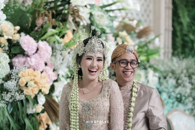 ZIA & DWI - WEDDING RECEPTION by Amarillis Floral and Party Decorator - 014