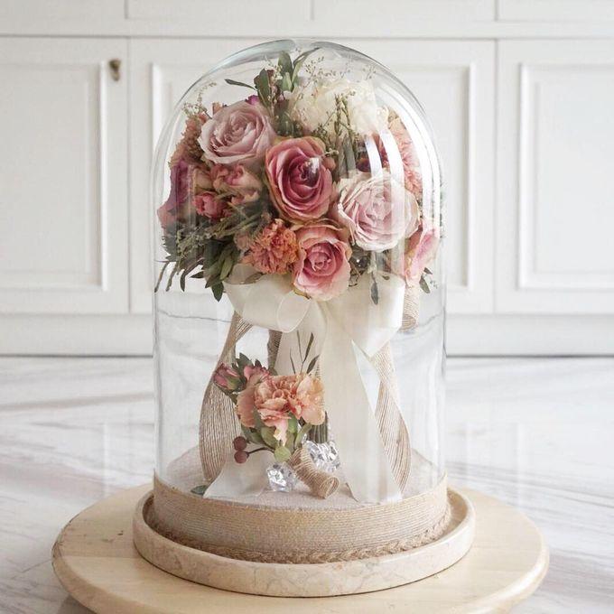 Preserved Wedding Bouquet of David Ameria by CONSERVÉ FLOWER PRESERVATION - 001
