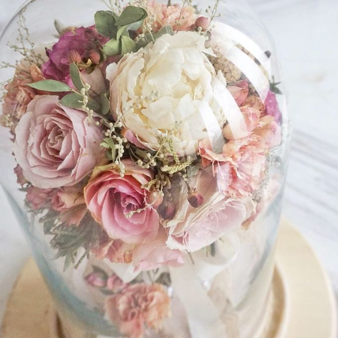 Preserved Wedding Bouquet of David Ameria by CONSERVÉ FLOWER PRESERVATION - 003