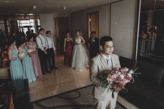 Anton & Cynthia Wedding Day by Mimi kwok makeup artist - 011