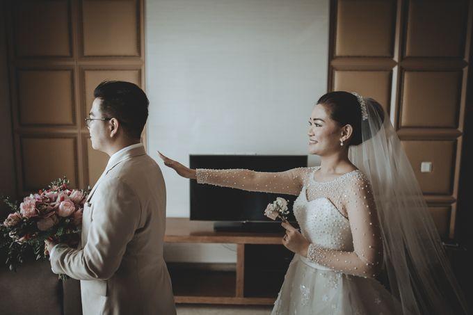 Anton & Cynthia Wedding Day by Mimi kwok makeup artist - 012