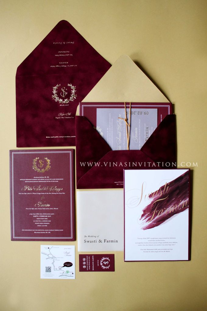 Swasti & Farmin by Vinas Invitation - 002