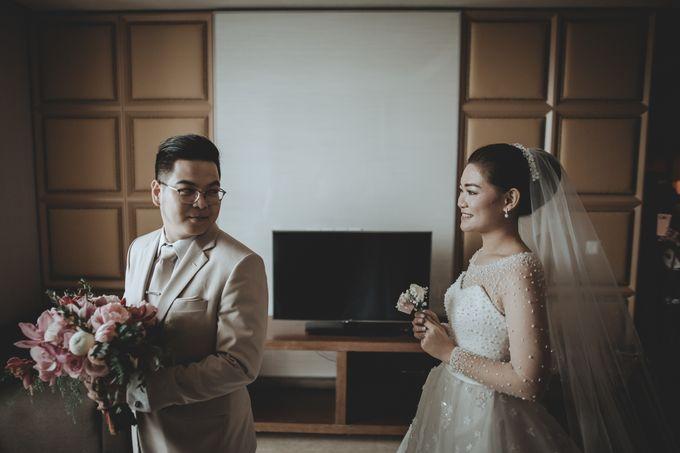 Anton & Cynthia Wedding Day by Mimi kwok makeup artist - 014