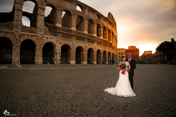 ROME  ITALY Sherly Prewedding by Therudisuardi - 028