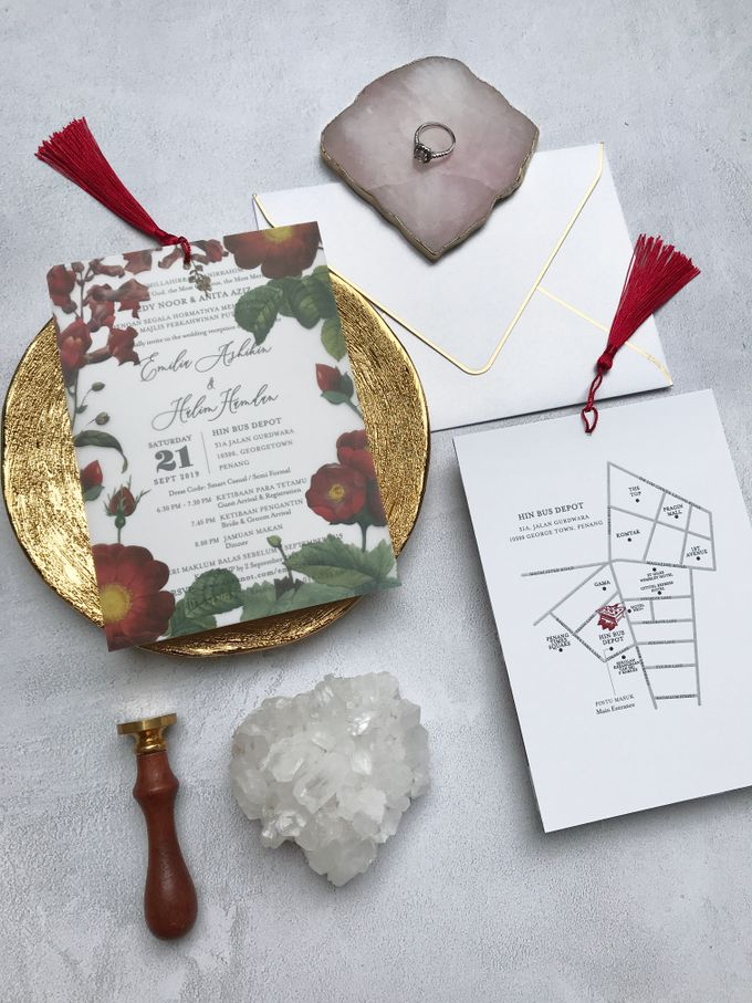 Vellum Invitation & Tassel by Ello Props - 018