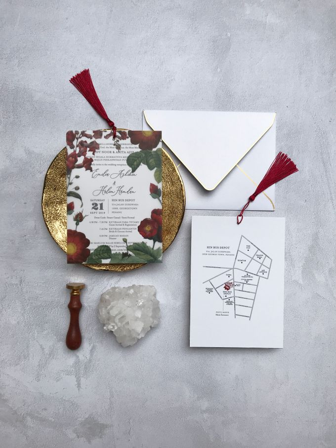 Vellum Invitation & Tassel by Ello Props - 017