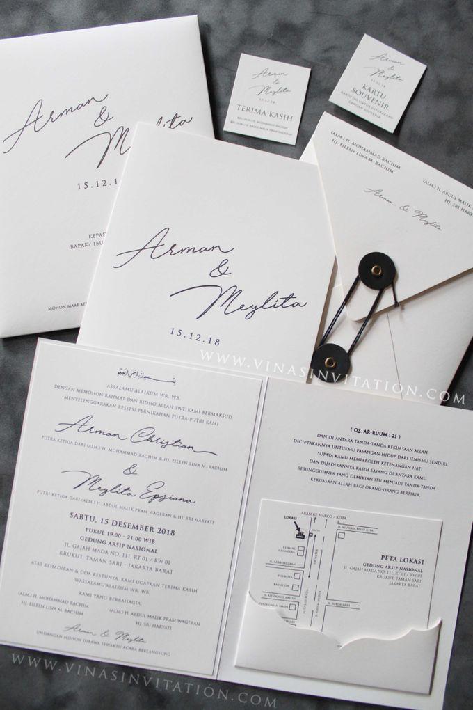 Arman & Meilita by Vinas Invitation - 001