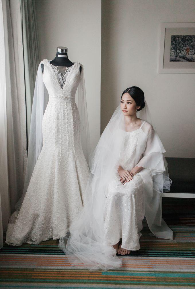 Markus & Tressi's Wedding by Cloche Atelier - 010