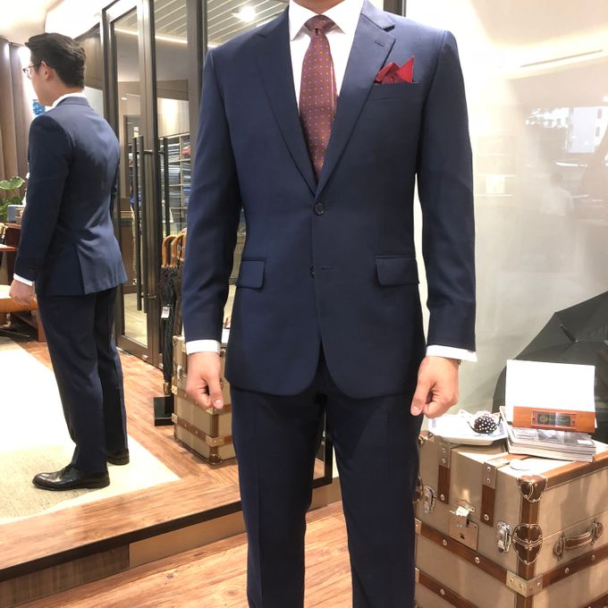 The evergreen Blue by Joe's Tailoring - 002