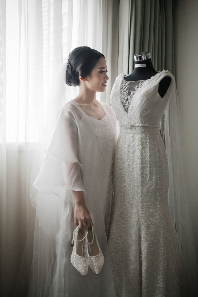 Markus & Tressi's Wedding by Cloche Atelier - 011