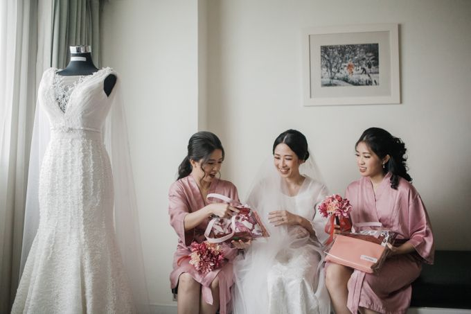 Markus & Tressi's Wedding by Cloche Atelier - 012
