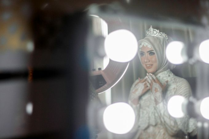 The Wedding of Ikhsan and Laily by LAKSMI - Kebaya Muslimah & Islamic Bride - 013