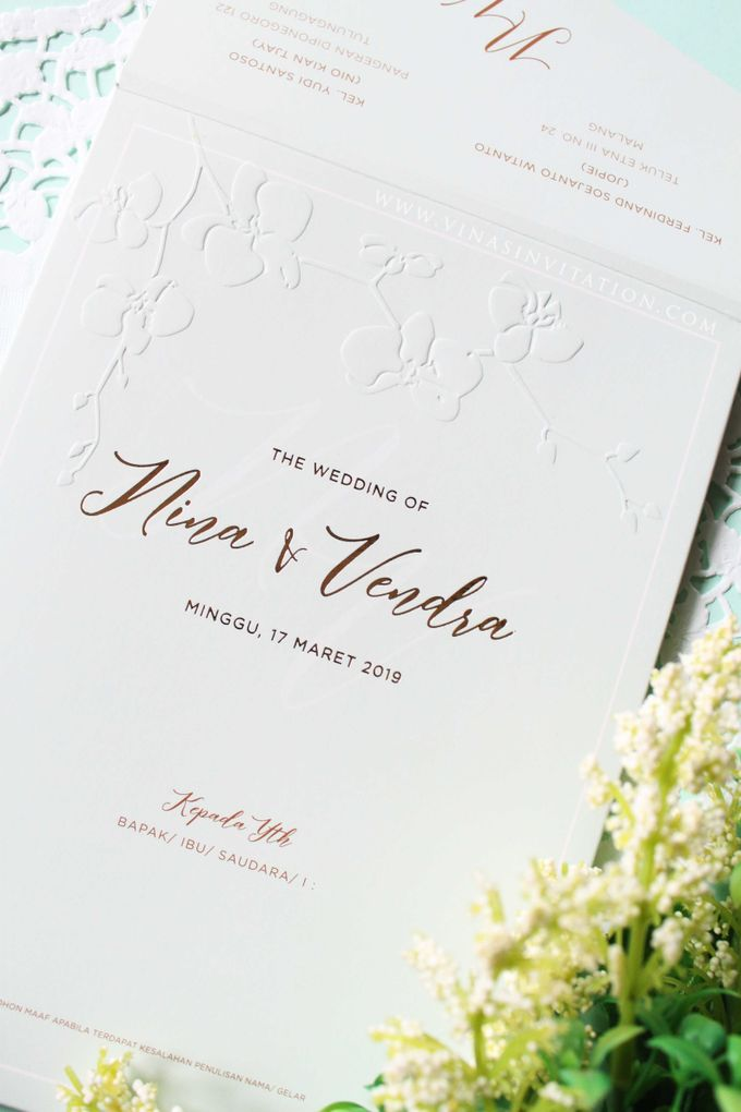 Nina & Vendra by Vinas Invitation - 001
