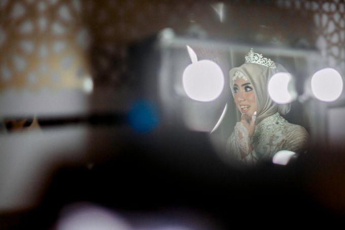 The Wedding of Ikhsan and Laily by LAKSMI - Kebaya Muslimah & Islamic Bride - 014