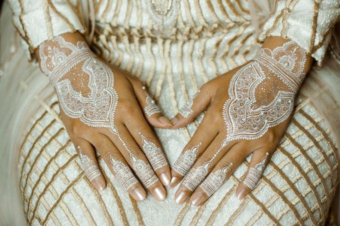 The Wedding of Ikhsan and Laily by LAKSMI - Kebaya Muslimah & Islamic Bride - 015