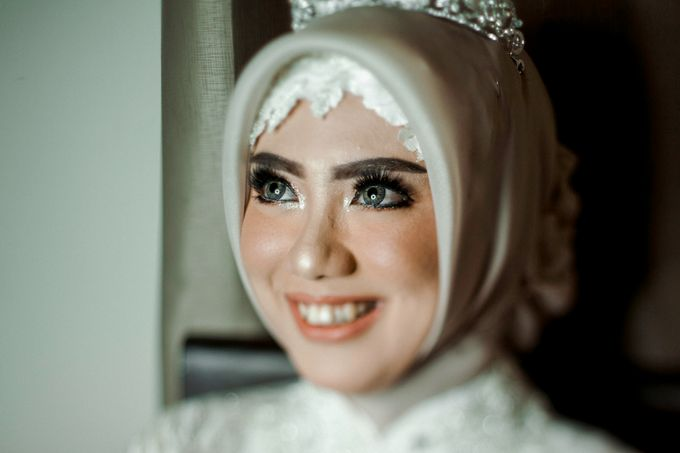 The Wedding of Ikhsan and Laily by LAKSMI - Kebaya Muslimah & Islamic Bride - 016