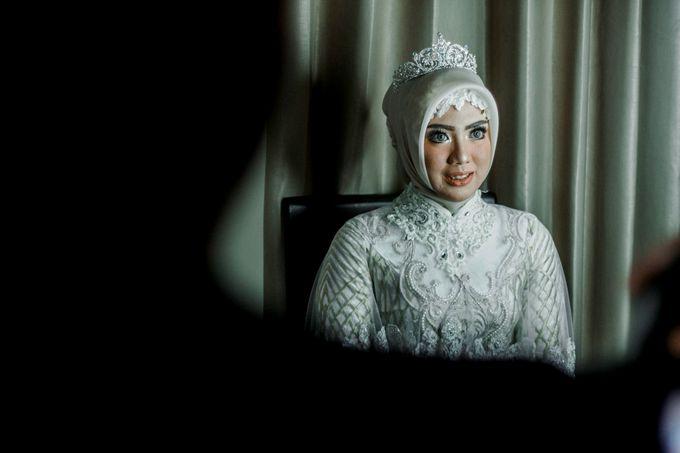 The Wedding of Ikhsan and Laily by LAKSMI - Kebaya Muslimah & Islamic Bride - 017