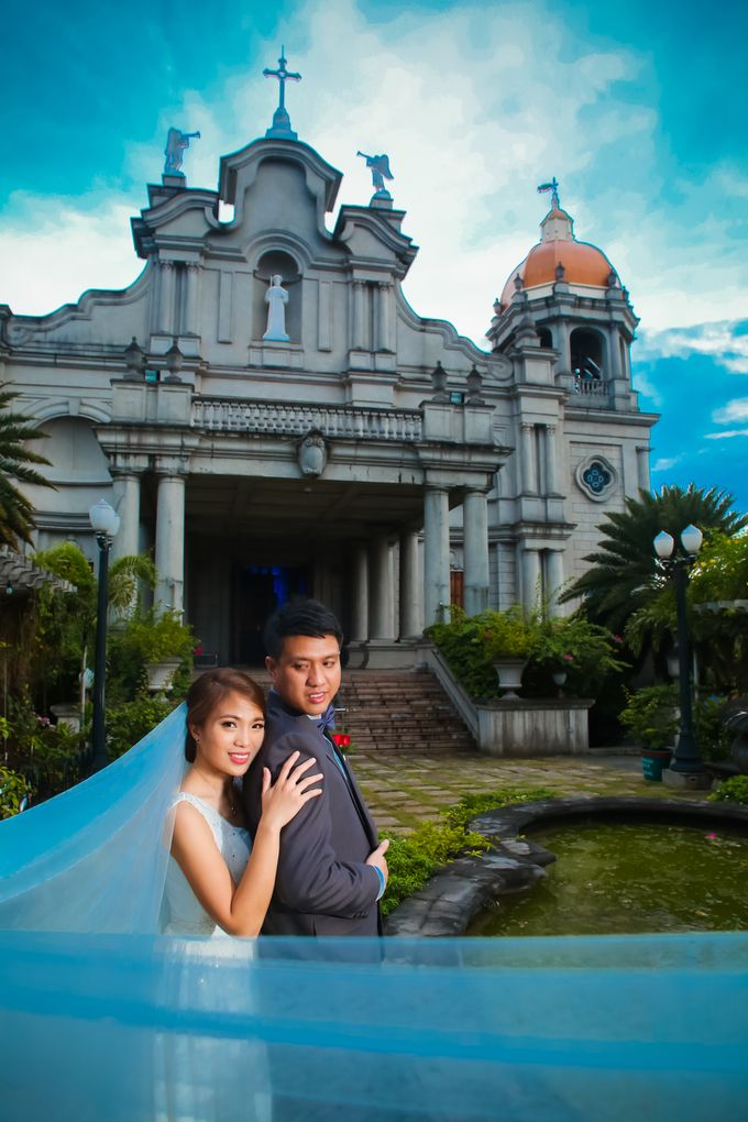Different Church Couple by shutterOne Photography - 004