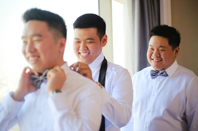 The Wedding of Audy & Caroline by Wong Hang Distinguished Tailor - 011