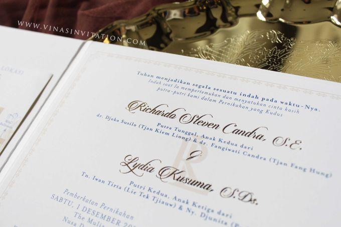 Ricardo & Lydia by Vinas Invitation - 003