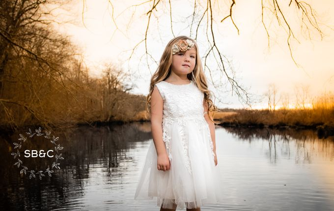 Flower Girl Dress by Sixpence Boutique & Co - 017